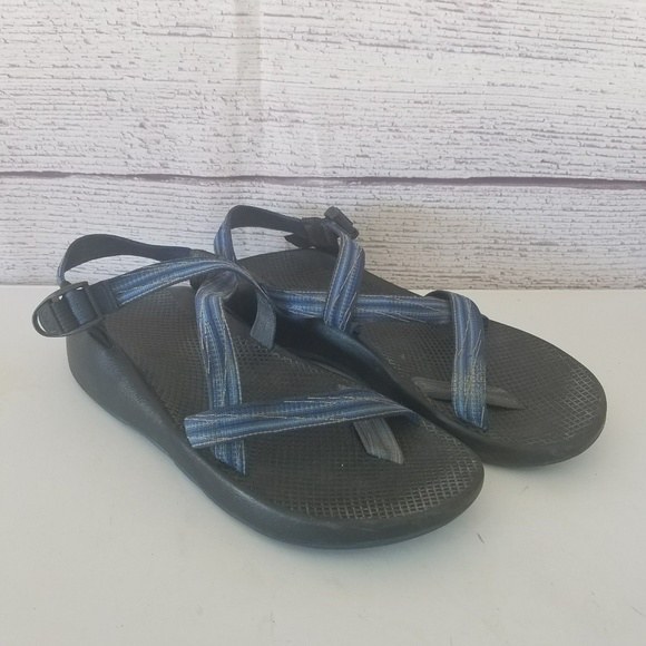 ca57516f75a2 Chaco Other - CHACO Men s Blue Vibram Sports Sandals 12